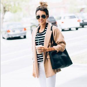 ASOS Black & White Striped Top